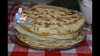 Вкусные и нежные лепешки с картошкой и луком на сухой сковороде