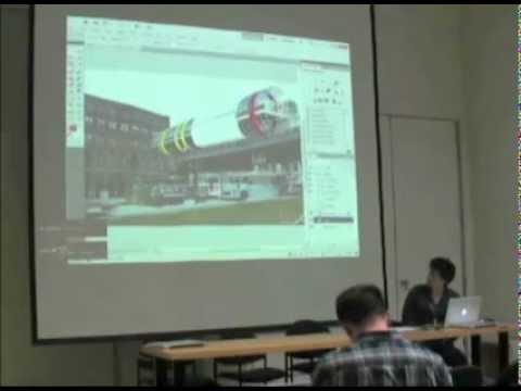 Moe Amaya - Rendering Presentation (MIT Architecture - Student Talks 1)