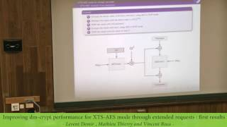 Gambar cover [GreHack 2016] Improving dm-crypt performance for XTS-AES mode – Levent Demir
