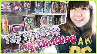 TOY HUNTING & THRIFTING - My Little Pony, Monster High, Lalaloopsy, Frozen and Blind Bags!
