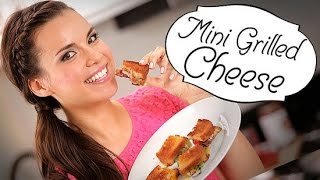 4 Must-make Mini Grilled Cheese Sandwiches