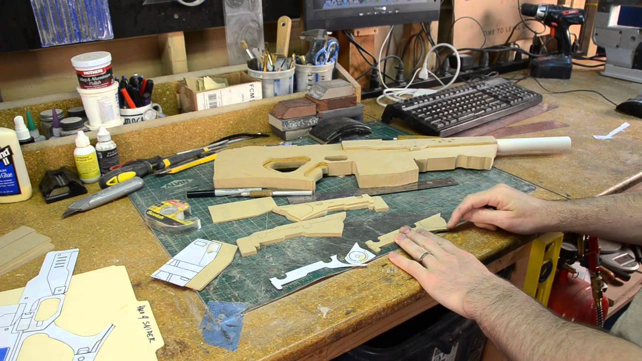 Building Replica Guns from MDF - In the Shop with Punished ...