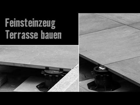 version 2013 feinsteinzeug terrasse bauen hornbach meisterschmiede youtube. Black Bedroom Furniture Sets. Home Design Ideas