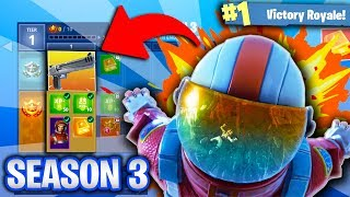 *NEW* FORTNITE SEASON 3 GAMEPLAY! NEW SKINS & NEW WEAPONS! (Fortnite Battle Royale!)
