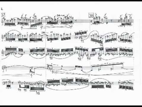 """Juan Carlos Tolosa: """"Y sacaréme la niebla"""" (1996), for wind quintet [w/ score]"""