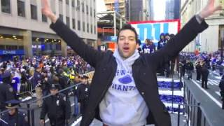 Vivalo: Throwback to the New York Giants Super Bowl Parade