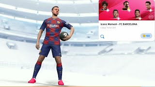 Open pack iconic moment- fc barcelona ...