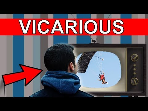 ✔ Learn English Words - VICARIOUS - Meaning, Vocabulary Lesson with Pictures and Examples
