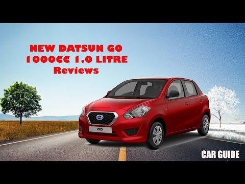 New Datsun Go 1000 cc verison 2016, 1.0 litre launch and reviews  car guide 