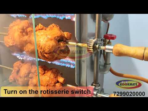 Grill Chicken Machine / Chicken Griller Machine -KOOKMATE- Commercial Kitchen Equipment
