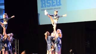 Rafales ESP - RSEQ régionaux cheerleading 2015