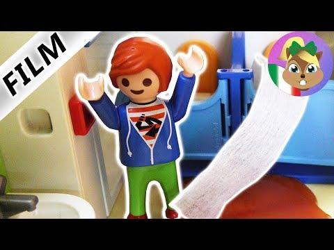 Playmobil Film: Julian intasa il water dell'asilo! Che puzza O.O