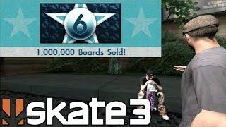 Skate 3 - 1.000.000 de Shapes Vendidos! 70% do jogo!- Parte #29