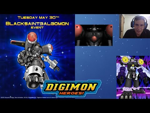 Digimon Heroes | Event = BlackSaintGalgomon SP 💪 (BlackMegaGargomon)
