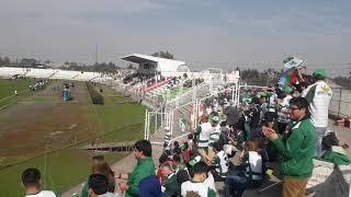 Recibimiento Deportes Temuco en Santiago vs Palestino