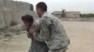 Repeat youtube video Funny Videos / Soldiers Dancing with Iraqi girls