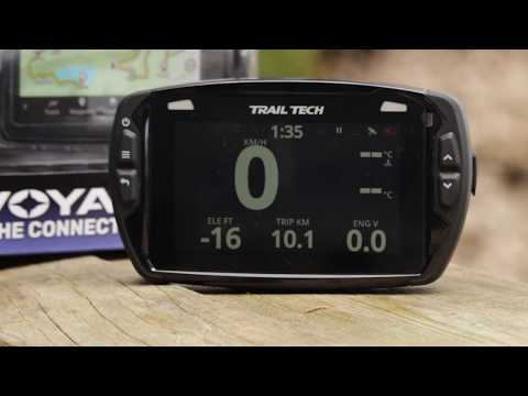 TrailTech has sent us two of these motorcycle Voyager PRO