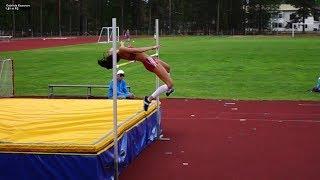 Gabriela Kosonen 1.81m PB | Ruovesi 2.7.17 | korkeuskarnevaalit