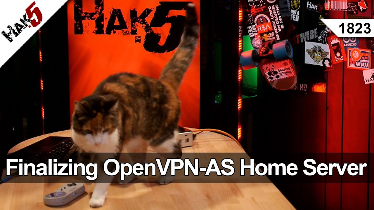 Hak5 1823 – Finalizing the OpenVPN-AS Home Server Build