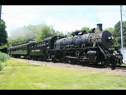 Chasing New Haven 2-8-2 3025 in Connecticut