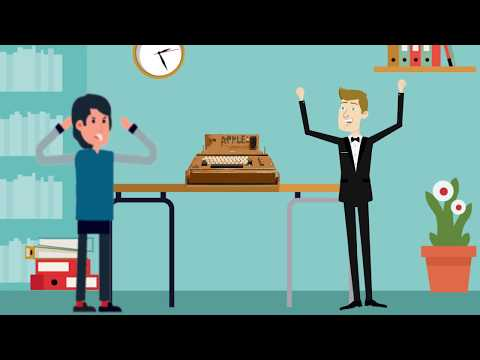History Of Apple And Steve Jobs - Animation