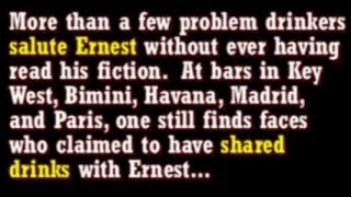 Greatest Drunks of All Time: Ernest Hemingway
