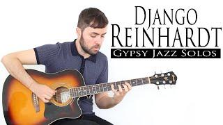 Solos Estilo Django Reinhardt - Gypsy Jazz - Guitarra Manouche