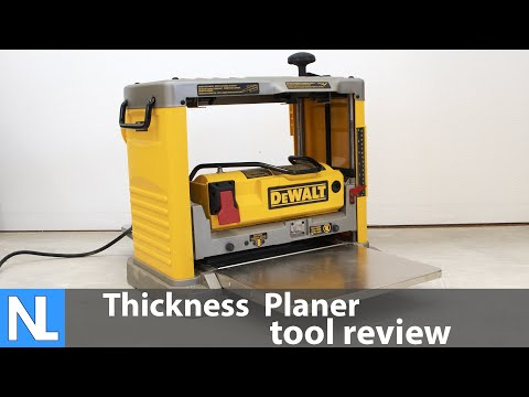 DEWALT Portable Thickness Planer DW734 Review