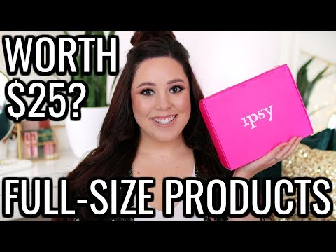 IPSY GLAM BAG PLUS FEBRUARY 2019 | TWO PALETTES?!