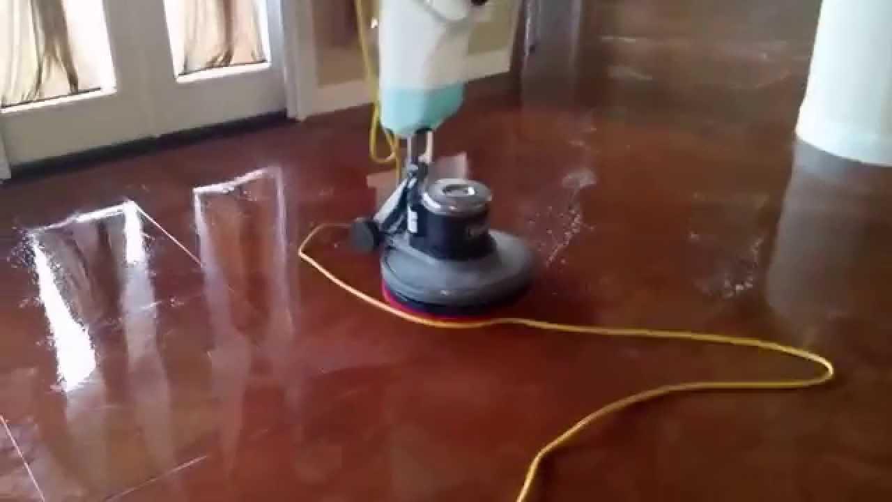 Floor Doctor Cement Wax Job You