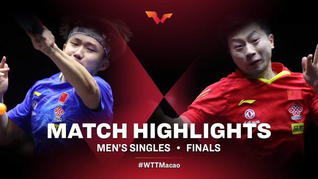 Download Wang Chuqin vs Ma Long | WTT Macao Men's Final HIGHLIGHTS