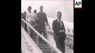SYND 05/09/1969 JAPANESE FOREIGN MINISTER, KIICHI AICHI, ARRIVES IN MOSCOW