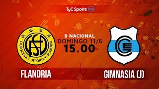 Flandria vs Gimnasia J full match