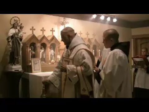 Carmelite Monks of Wyoming - Carmelites, New Mount Carmel from YouTube · Duration:  7 minutes 16 seconds