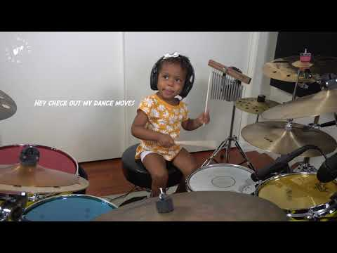 Dua Lipa Drum Cover by 2yr old, Shia Wilson | Wilson World