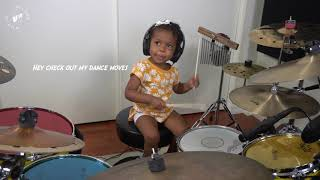 Dua Lipa Drum Cover by 2yr old, Shia Wilson | Wilson World