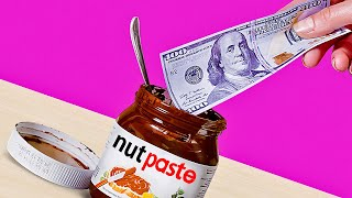 Turn Nutella Jar into a FANCY WALLET thumbnail