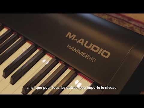 Prsentation du clavier matre M-Audio Hammer 88 par Joel Holmes (vido de La Boite Noire)