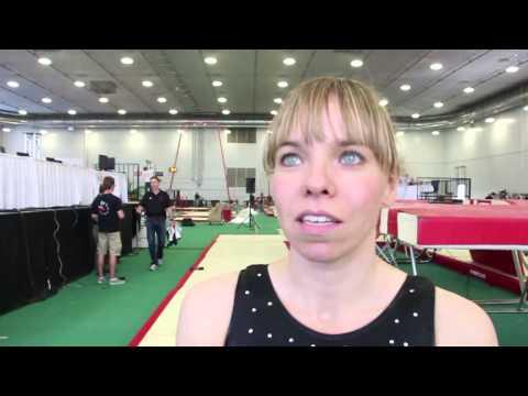 Karen Cockburn Interview - 2014 Canadian Trampoline Championships