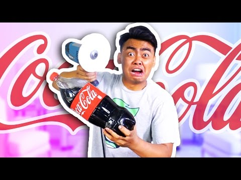 Thumbnail: CAN PAPER CUT A COCA COLA BOTTLE?!