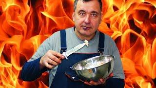 [Перекус] Салат из трески горячего копчения. Вкус премиум плюс.