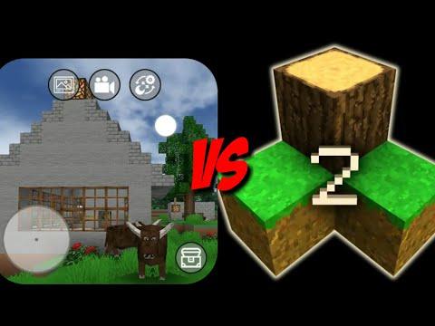 Mini Block Craft Vs Survivalcraft 2