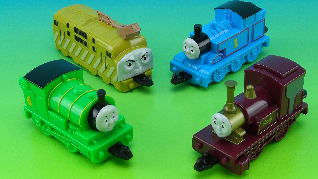 Thomas The Train And The Magic Railroad Subway Kids Meal Collection
