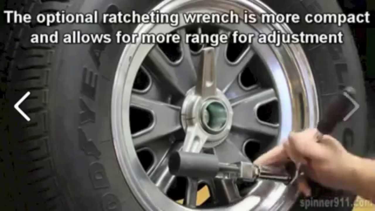 2015 Mustang Wheels >> AC COBRA Knock off wheel : Spinner tool - YouTube