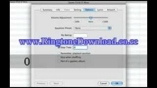 Crear ringtones para el iPhone usando únicamente el iTunes thumbnail