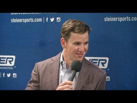 Eli Manning In-Depth Interview with Brandon Steiner, Quarterback, New York Giants, 2x Super Bowl MVP