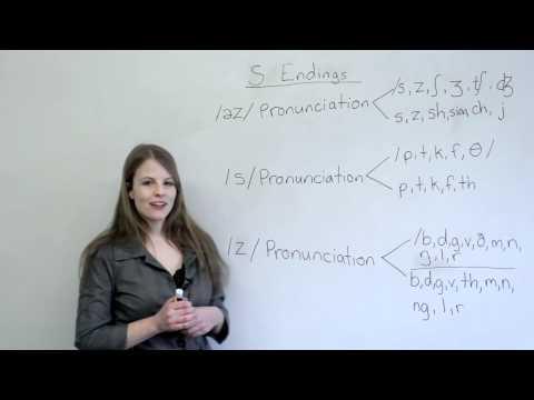 Cách phát âm chữ s trong tiếng Anh