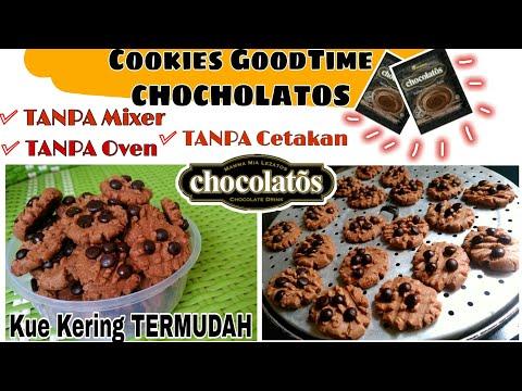 cookies-goodtime-chocholatos-|-kue-kering-simple-no-oven-no-mixer-no-cetakan-|-ide-camilan-rumahan