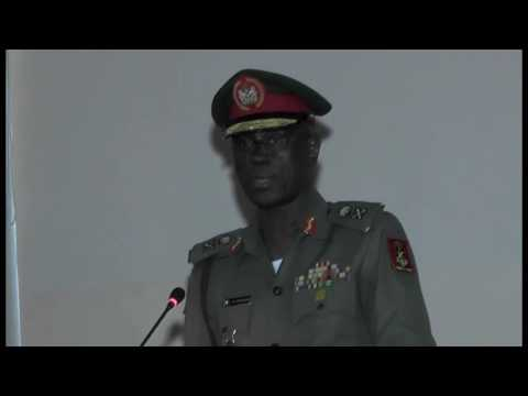 Lecture by Maj Gen AB Abubakar during the RSMS convention 2016
