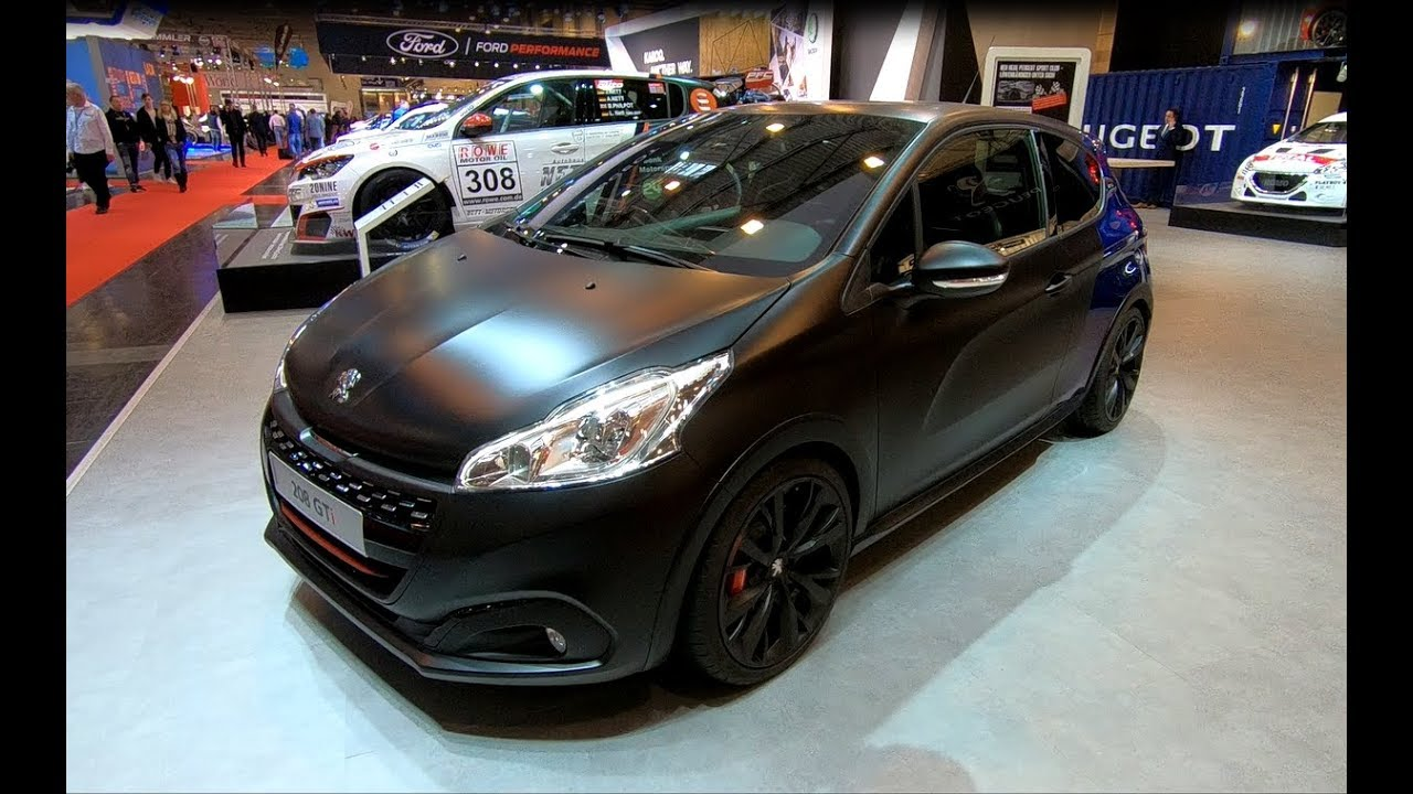 PEUGEOT 208 GTI BY PEUGEOT SPORT NEW MODEL WALKAROUND + INTERIOR